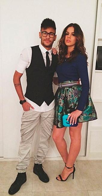 Neymar e Bruna assumiram o namoro em fevereiro de 2013 - Foto: Reprodução | Instagram