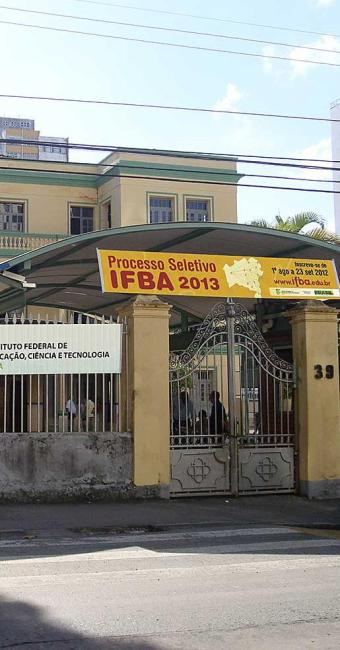 Candidatos que têm direito ao desconto devem levar os documentos no campus da IFBA - Foto: Divulgação | Reitoria IFBA