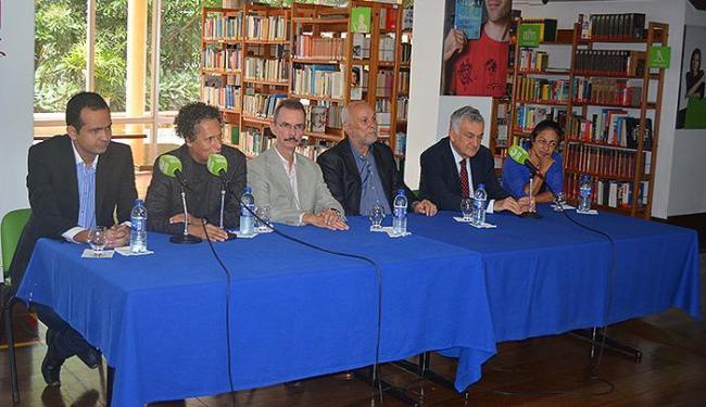 Lançamento foi no Instituto Cultural Brasil-Alemanha (Icba), na Vitória, nesta quinta - Foto: Edgard Abbehusen l Divulgação