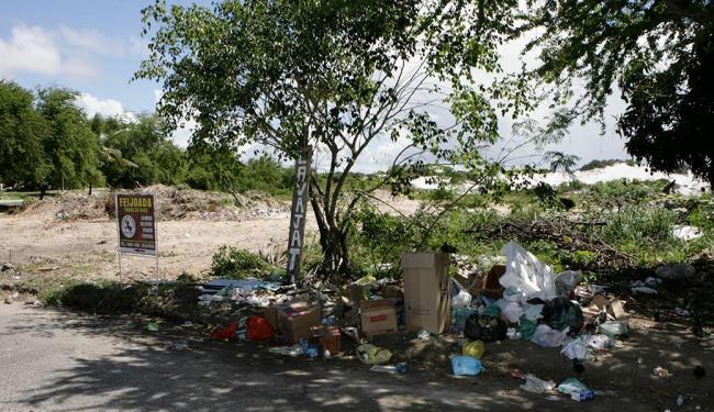 Área no condomínio Petromar é um dos pontos críticos - Foto: Marco Aurélio Martins | Ag. A TARDE