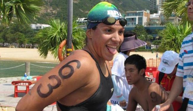 Ana Marcela conquistou subiu ao pódio em todas as etapas disputadas no atual circuito - Foto: Christiane Fanzeres   COB