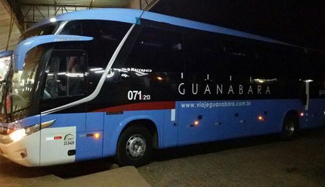 Ônibus interestadual fazia a linha Goiânia-Sobral