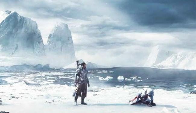 Game vai ter batalhas navais e paisagens geladas - Foto: Reprodução