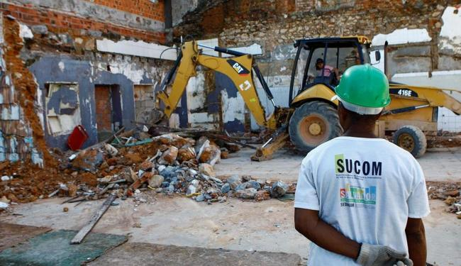 Espaço onde funcionava a Cantina Panzoni foi demolido pela Sucom em maio - Foto: Fernando Vivas | Ag. A TARDE