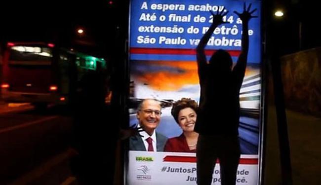 A concepção dos cartazes é de autoria da própria ONG - Foto: Divulgação | Greenpeace Brasil