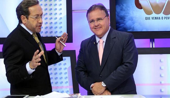 Geddel diz a Casemiro Neto que governo Wagner será julgado nas próximas eleições - Foto: Lúcio Távora   Ag. A TARDE