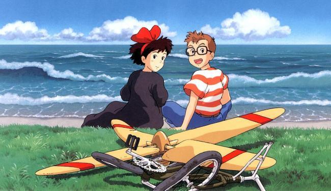 O Serviço de Entregas de Kiki (1989), primeira animação de Miyazaki distribuída pela Disney - Foto: Divulgação
