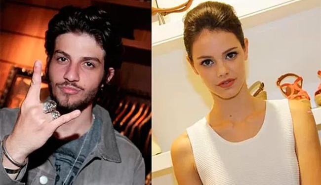 Chay e Laura foram vistos em clima de paixão em uma festa na casa do ator - Foto: TV Globo | Divulgação
