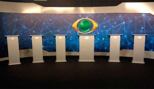 Cenário onde os candidatos da Bahia vão debater nesta noite - Foto: Divulgação
