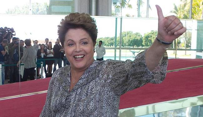Dilma Rousseff regressa à Bahia, onde o PT sempre vence as eleições presidenciais - Foto: Ed Ferreira l Estadão Conteúdo