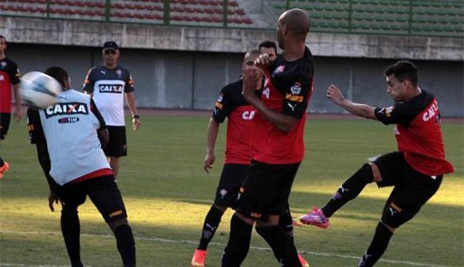 Jogadores participaram de um treino tático no estádio de Pituaçu - Foto: Divulgação l E.C. Vitória