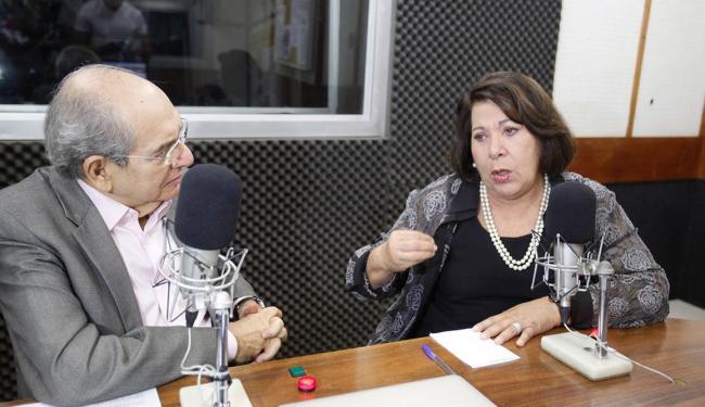 Ministra diz que a política está desacreditada - Foto: Edilson Lima | Ag. A TARDE