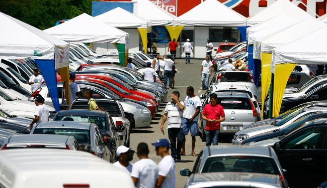 Evento acontece no estacionamento do Extra Paralela até domingo - Foto: Joá Souza | Ag. A TARDE