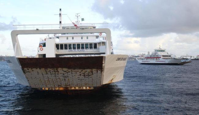 Durou 71 dias a longa jornada marítima dos ferries Dorival Caymmi e Zumbi entre a Grécia e Salvador - Foto: Lúcio Távora | Ag. A TARDE
