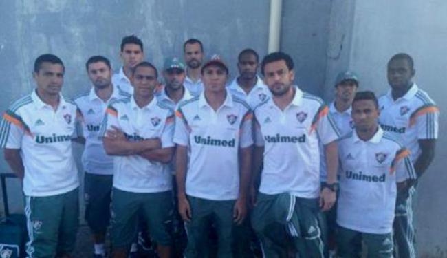 Delegação do Tricolor foi hostilizada por torcedores em seu desembarque no Rio - Foto: Reprodução l Twitter