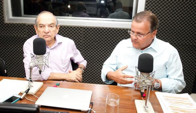 Geddel Vieira Lima (PMDB), candidato a senador, foi entrevistado por Mário Kertész - Foto: Edilson Lima | Ag. A TARDE