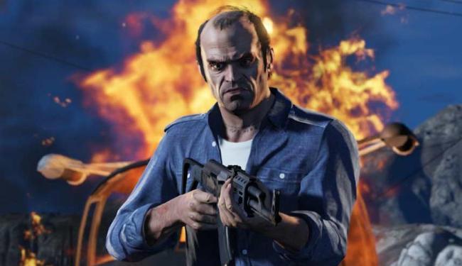 GTA V é considerado um dos jogos mais violentos dos consoles - Foto: Divulgação