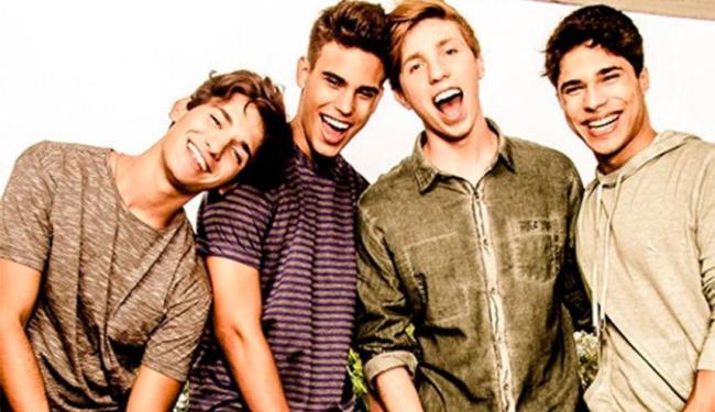 Igor, Jonathan, Michael, Guilherme formam a banda P9 - Foto: Reprodução