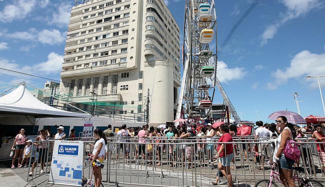 Inauguração da nova Barra aconteceu no último final de semana, após reformas - Foto: Mila Cordeiro| Ag. A TARDE
