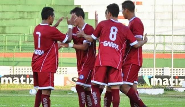 O gol do triunfo foi marcado pelo atacante Robert - Foto: Divulgação l FBF