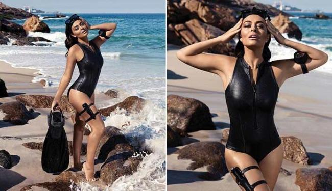 Apesar do belo corpo, Juliana Paes ainda quer emagrecer mais - Foto: Divulgação   Boa Forma
