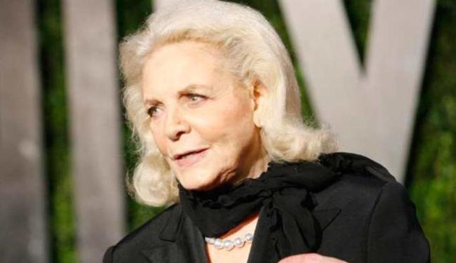 Atriz foi casada com Humphrey Bogart - Foto: Agência Reuters