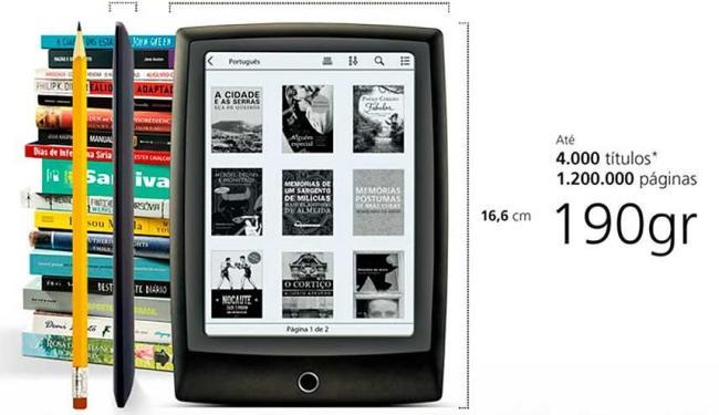 Lev é a aposta da Saraiva no setor de e-readers - Foto: Divulgação