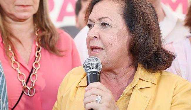 Líidice inaugurou comitê de sua campanha neste sábado, 03, em Salvador - Foto: Manuela Cavadas/ Divulgação