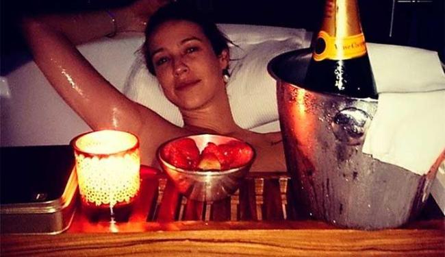 Foto de Luana postada pelo marido divulga momento íntimo do casal - Foto: Instagram | Reprodução