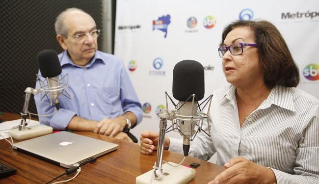 Lídice foi a entrevistada de hoje no programa de Mário Kertész - Foto: Edilson Lima | Ag. A TARDE