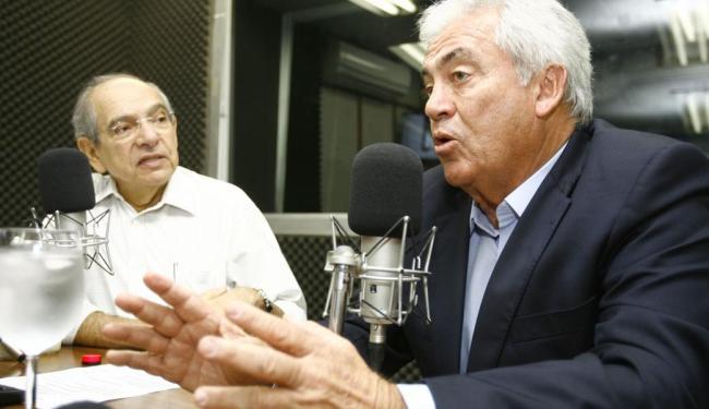 Entrevistado por Mário Kertész, Otto Alencar (PSD) defendeu uma reforma tributária - Foto: Joá Souza | Ag. A TARDE