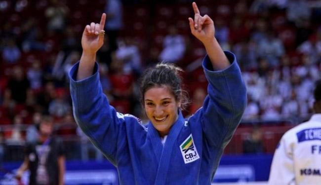 Esta foi a quarta medalha que a gaúcha de 23 anos conquistou na competição - Foto: Divulgaçã | IBJ