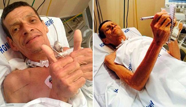 Walter Lúcio chegou a ser colocado em saco para cadáveres - Foto: Acervo Pessoal