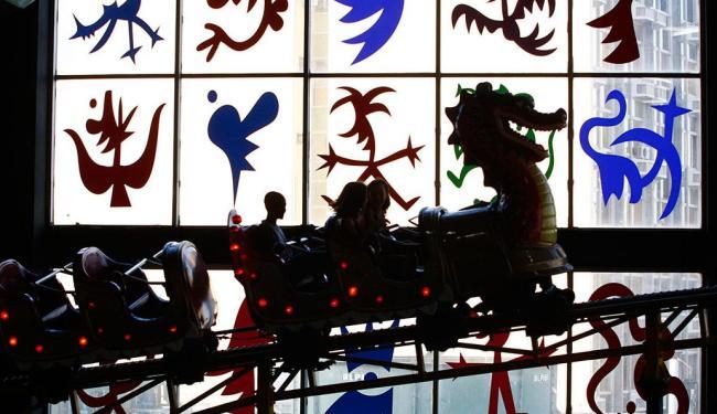 Funcionários do parque informaram que brinquedos não sofreram danos em decorrência do arrombamento - Foto: Fernando Vivas | Ag. A TARDE | 9.10.2009