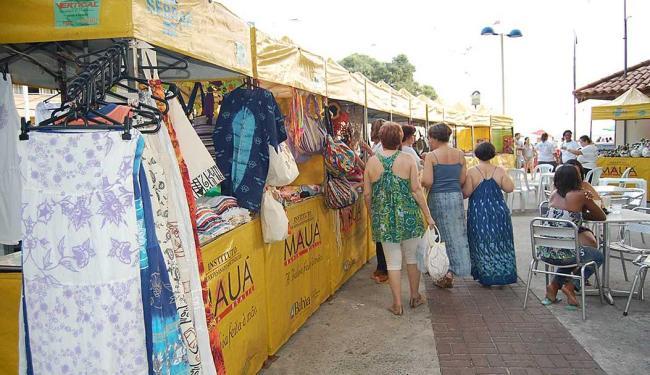 Serão instaladas 30 barracas de artesanato nesse fim de semana no Porto da Barra, das 15h às 21h - Foto: Divulgação | Camila Jasmin
