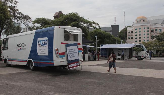 O caminhão do serviço estará na praça Newton Rique, em frente ao Iguatemi, nesta sexta-feira - Foto: Joá Souza| Ag. A TARDE