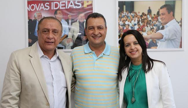 Prefeita de Valença, Jucélia Nascimento (PTN), anunciou apoio a Rui ainda em junho - Foto: Ascom PT | Divulgação