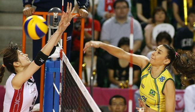 A seleção brasileira feminina de vôlei conquistou o 10º título do Grand Prix - Foto: FIVB | Divulgação