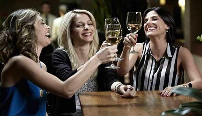 Juliana Schalch, Michelle Batista e Rafaela Mandelli vivem as protagonistas da série - Foto: HBO | Divulgação