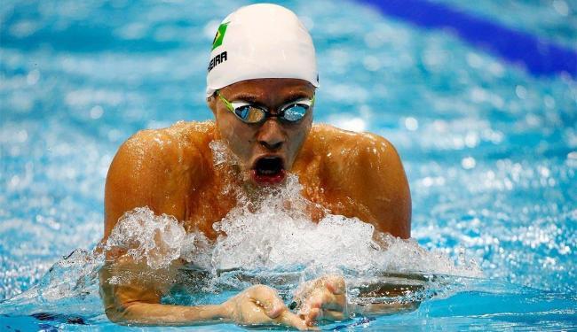 Thiago Pereira competirá nos 200m e 400m medley, além dos 100m costas e 100m borboleta - Foto: David Gray l Agência Reuters