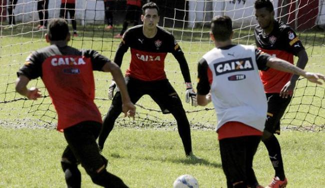 Jogadores finalizaram preparação na Toca do Leão - Foto: Marco Aurélio| Ag. A TARDE
