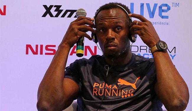 Velocista jamaicano afirmou o principal objetivo no momento são os Jogos Olímpicos - Foto: Sergio Moraes l Reuters