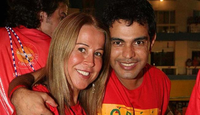 Zezé Di Camargo e Zilu em foto de quando ainda eram casados - Foto: Luciano da Mata | Ag. A TARDE