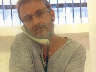 Imagem do doleiro Alberto Youssef preso - Foto: Reprodução