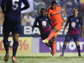 No primeiro turno, na Fonte Nova, Bahia perdeu por 1 a 0 - Foto: Agência PhotoCamera