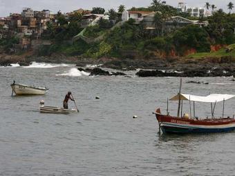 Acidente ocorreu na região da praia do Rio Vermelho - Foto: Luciano da Matta   Ag. A TARDE