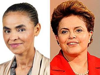 As duas candidatas estão empatadas tecnicamente no segundo turno - Foto: Reprodução