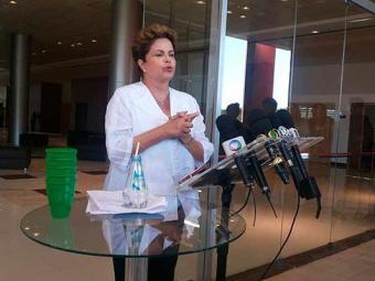 Presidente alfinetou a candidata Marina Silva - Foto: Biaggio Talento | Ag. A TARDE