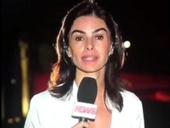Repórter responde à apresentador que não foi avisada - Foto: Reprodução | Youtube