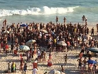 Giovanna Antonelli postou foto dos arrastões no Rio - Foto: Reprodução | Instagram
